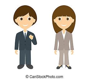人, ビジネスの女性たち
