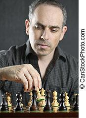 人, プレーのチェス