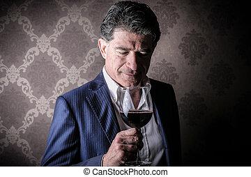 人, ワイン