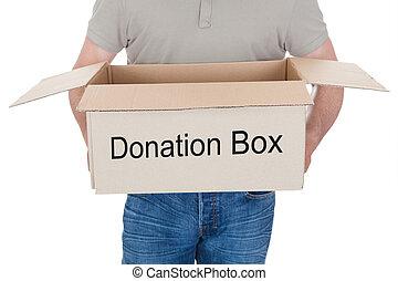 人, 保有物, 寄付箱