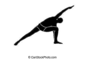 人, 做, 瑜伽
