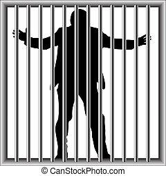 人, 刑務所