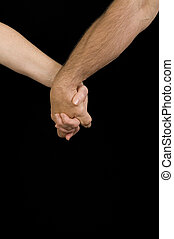 人, &, 女性の保有物, 手
