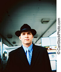 人, 帽子, 50 年代