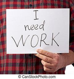 人, 手掛かり, 赤, 小片, ワイシャツ, ペーパー, ジーンズ, 仕事, 碑文, 必要性