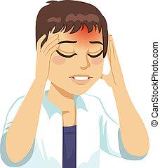人, 持つこと, 頭痛