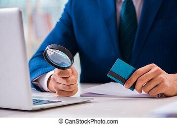 人, 支付, 由于, 信用卡, 在網上