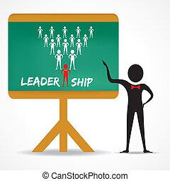 人, 点, 概念, 领导
