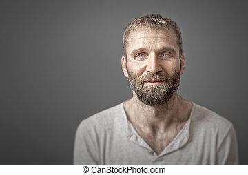 人, 由于, 胡子