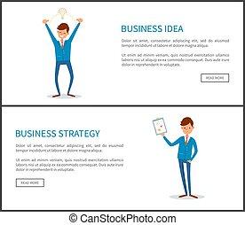 人, 經營戰略, 文件, 紙, 想法