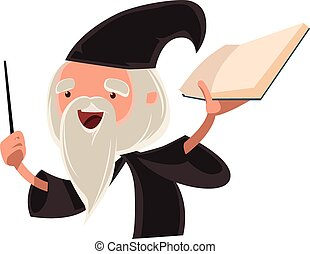 人, 老, 巫術師, 偉大