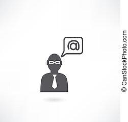 人, 電子メール, アイコン