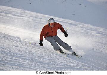 今, 季節, 冬, スキー