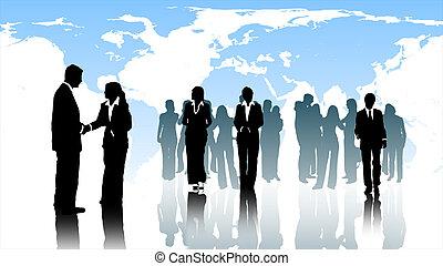 仕事のチーム, ビジネス