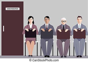 仕事の 調査, 年齢