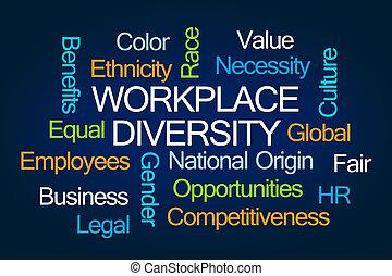 仕事場, 多様性