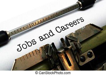 仕事, そして, キャリア