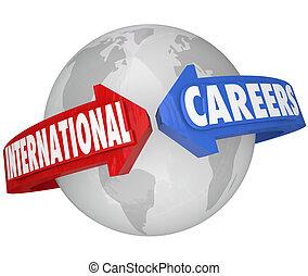 仕事, ビジネス, 世界的である, 雇用者, インターナショナル, キャリア