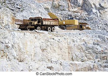 仕事, 採石場