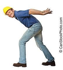 仕事, 重い, handyman