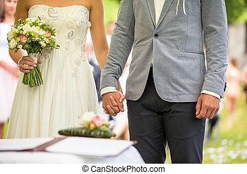 他們, 夫婦, 天, 婚禮