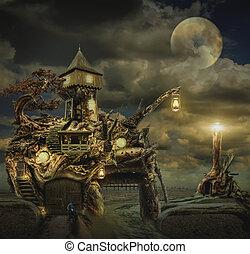 仙女, 房子, (fort)