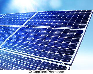 代替エネルギー, 太陽