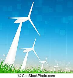 代替エネルギー, 風