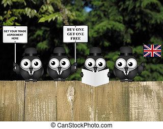 代表団, 合意, イギリス, 取引しなさい