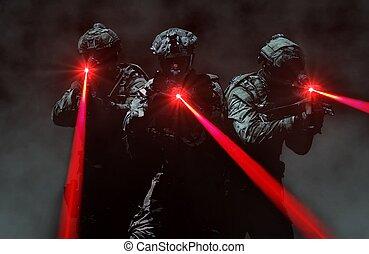 代表団, 襲撃, 力, 秘密, チーム, の間, 特別
