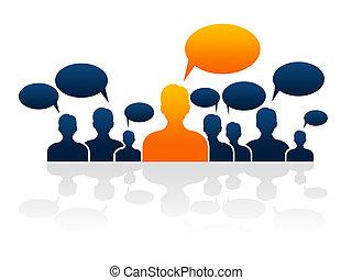 代表, 管理, 公司, 影響, 領導, 組織