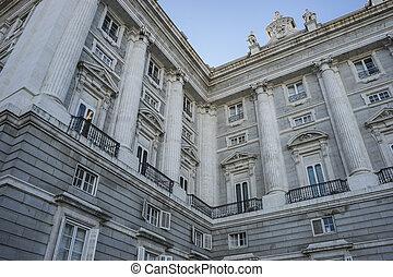 以前, 住处, 在中, the, 国王, 在中, 西班牙, 皇家的宫殿, 在中, 马德里