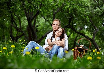 任命, 公園, ロマンチック