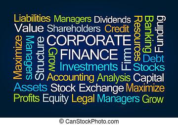 企業である, 単語, 金融, 雲