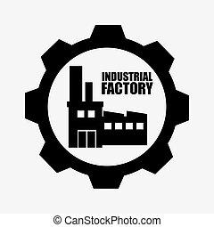 企業, 工場, グラフィック