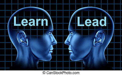 企業 訓練, 以及, 領導