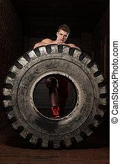 休息, 輪胎, 測驗, 以後, 肌肉, 人