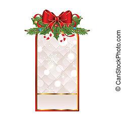休日, クリスマスカード, 挨拶