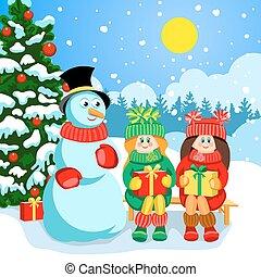 休日, クリスマスカード