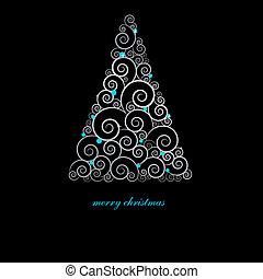 休日, クリスマスカード, elements.