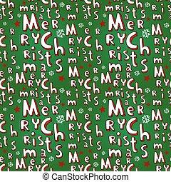休日, クリスマス, 背景, seamless