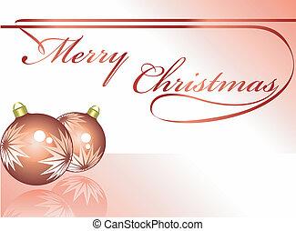 休日, 背景, ∥で∥, クリスマス, o