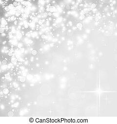 休日, 背景, 抽象的, ライト, クリスマス