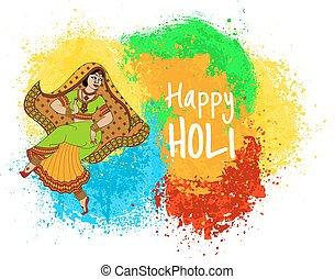 休日, indian, holi