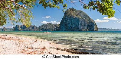 休暇, palawan, 叙事詩, 熱帯 島, フィリピン, エキゾチック, 美しい