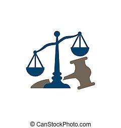 会社, 正義, スケール, ベクトル, 法律, サービス, ロゴ, 弁護士, デザイン, オフィス