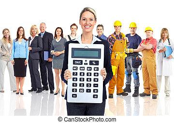 会計士, 女性ビジネス
