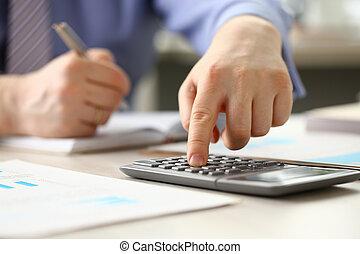 会計士, 計算しなさい, マネージャー, 予算, 簿記