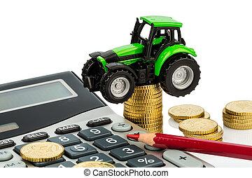 会計, コスト, 農業