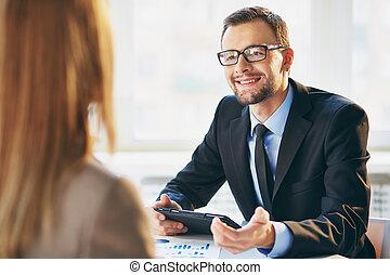 会話, ビジネス
